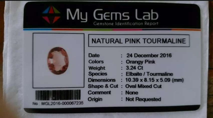 Batu Pink tourmaline 0