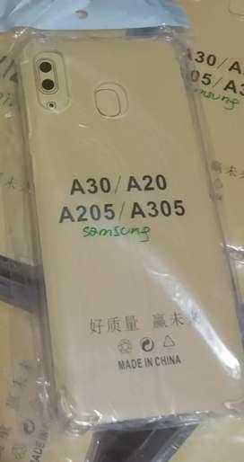 Case Anti crack soft jelly samsung a30 a20 a205 a305