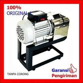 Mesin Parut Kelapa/Singkong Listrik Stainless BISON 200 Watt ID72