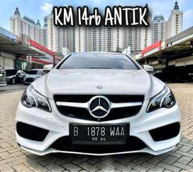 Mercy E200 Coupe AMG 2013/2014 KM 14rb ANTIK Mercedes Benz E200 E250