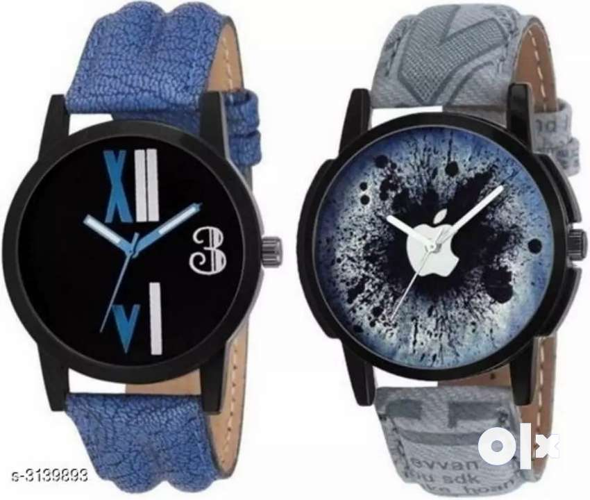 2 watch  men's  all India free home delivery 0