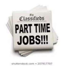 Part Time Job/full Time Job