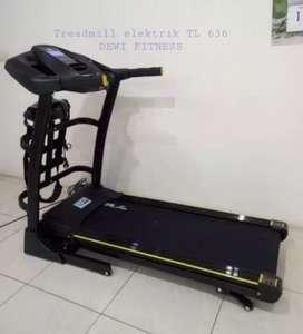 Promo gudang alat fitnes // treadmil electrik TL 636