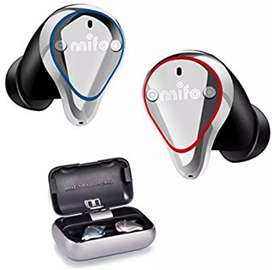 Earbuds, Mifo O5 Waterproofed, 100 Hours Playback Noise Cancelling