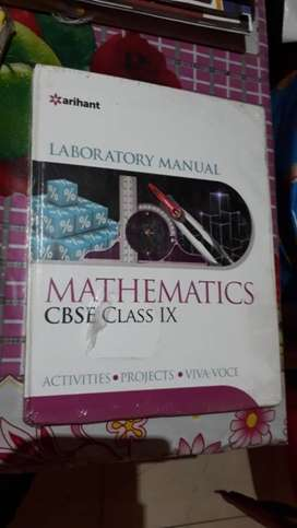 Brand new seal pack maths lab activity book