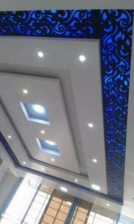 FALSE CEILING 2*2 GYPSUM TILE