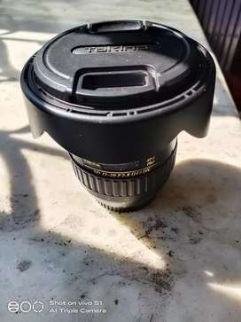 Tokina 11-20, f2.8 is in mint condition