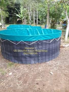 Kolam Terpal Bulat-Kotak Murah dan Berkualitas