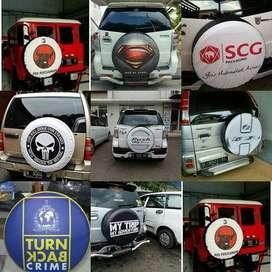 Cover/Sarung Ban mobil konde Jimny/Rush/Terios/Everest Aja Sekarang Ga
