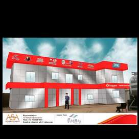 building cladding , Iron Shed, Petrol Pumps Canopy