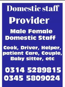 Express, provide patient care, Cook, Driver, trained Helper, Maid,