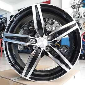Jual Velg Brio Agya Ayla Sigra Datsun Trouring Ring 16 Black Machine