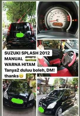 Suzuki splas tahun 2012 Mt