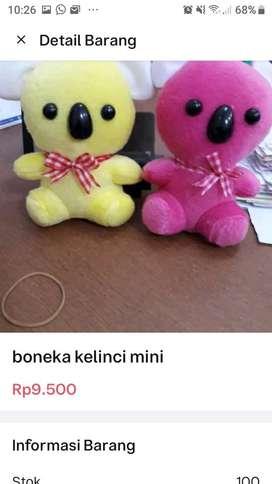 Boneka mini tedy bear