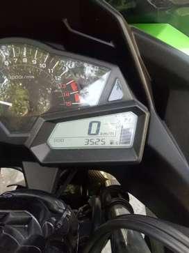 Kawasaki Ninja 250 Fi ABS Low KM, Full Modif Branded (Bikers).