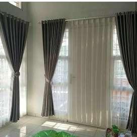 Gorden Minimalis Gordyn Korden Gordeng Hordeng Vitrase Curtain 431