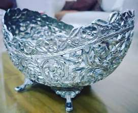 Handcrafted Silver Plated Bowl