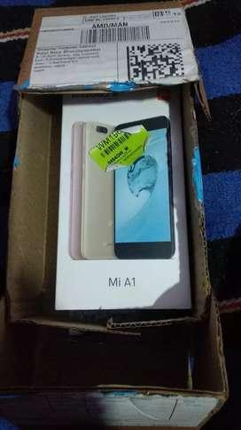 Mi A1 4 GB Ram 8 GB Rom good working condition very Good