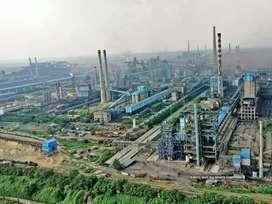 Office work in tata steel