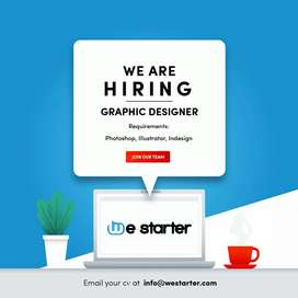 Creative graphic designer required