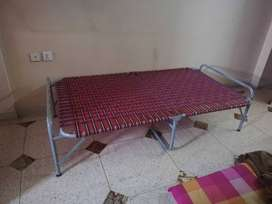 Foldable single bed for sale in good condition