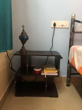 Bed side table and extension board