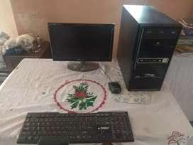 Monitor,mouse,keyboard, cpu
