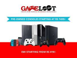 Buy & Sell Used Gaming Consoles(PS5,PS4,PS3,Xbox Series,Xbox One,)