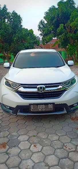 Di Jual Honda CRV  V TEC 1,5Turbo 2018 kondisi istimewa