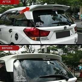Before After. Honda Mobilio Diupgrade Menggunakan Spoiler Ala RS