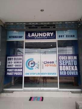 Over Kontrak Laundry + Isi