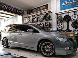 modifikasi Civic FD - CR-KAI distributor R17x7,5 H5x114,3
