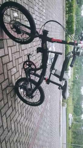 Sepedaku lipat Pasific