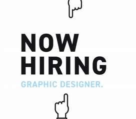 Vacancy for Graphics Designer with Animation/Video experience.