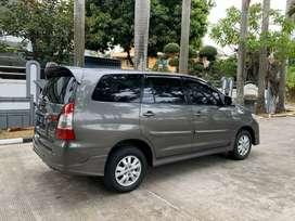 Toyota Kijang Grand Innova G Luxury 2014 Bensin Matic Mulus Like New!