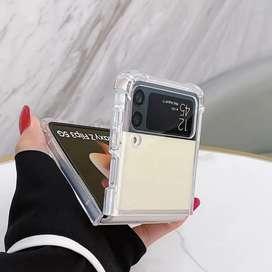 Vision Armor Case Samsung Galaxy Z Flip 3 - Acrylic Clear Casing Fit