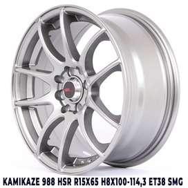 promo diskon KAMIKAZE 988 HSR R15X65 H8X100-114,3