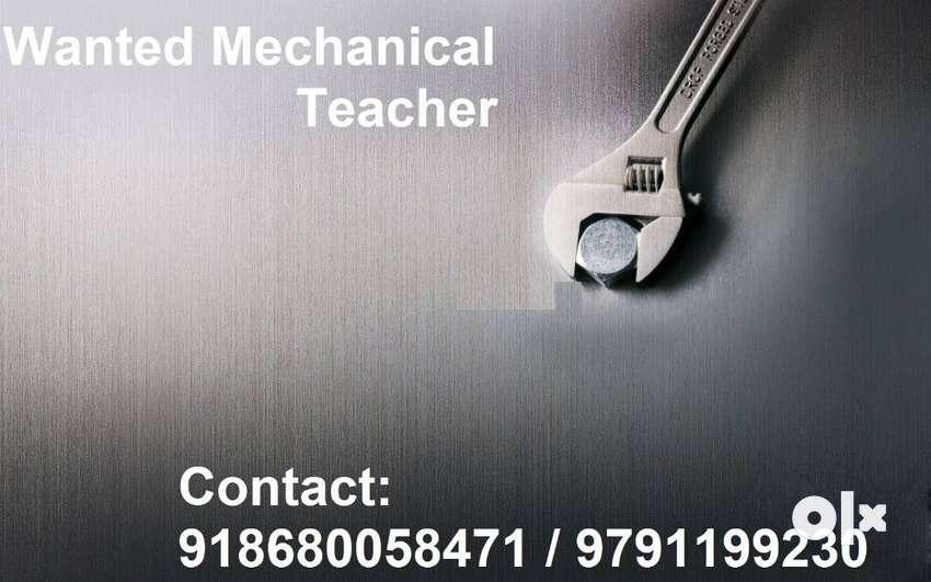 Wanted Tuition Teacher (Mechanical)