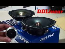 Orignal DD liner speakers with boombastic sound