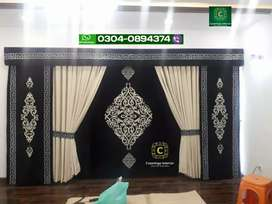 Curtains and Wallpaper in Lahore free fitting available full save way