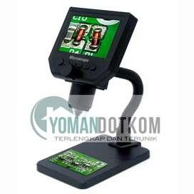 New - Digital Mikroskope 3.6MP 600X dengan Monitor & Stand - G600
