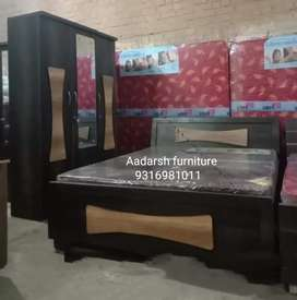 Bedroom set brand new with mattress (ba p n)