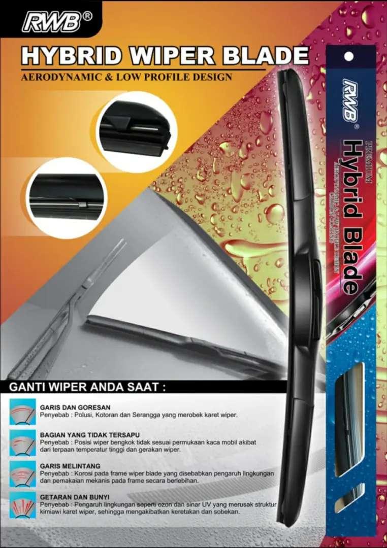 Wiper Hybrid RWB, Sapuan Resik, Satuan 0