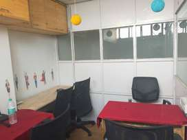 5 seater private office With Md table fully furnished