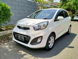 Mulus! Kia New Picanto 1.2 SE 2012 Matic tk Brio March 2013