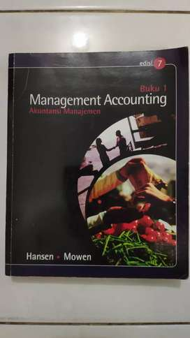 Buku Legendaris Management Accounting Akuntansi Managemen