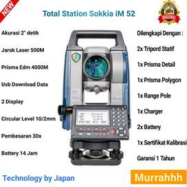 Total Station Sokkia iM 52 Baru Mobil