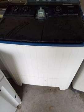 Mesin cuci 2 tabung panasonic 14kg