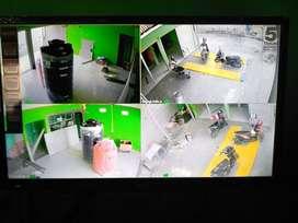 ~ CCTV 4 channel 2 mp free pasang tersedia beberapa paket lainya