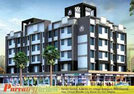 1BHK NEW BRAND SEMI FURNISHED FLAT FOR SALE IN PARVATI GARDEN,BOISAR E